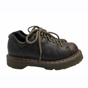 Dr. Martens Brown Leather Low Work Shoe Size 7